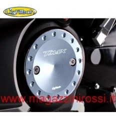 Carterini motore Lightech per Yamaha T-Max 500 01-11 e T-Max 530 2012 in ergal argento