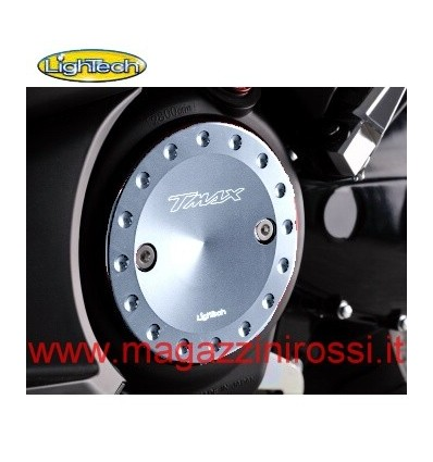 Carterini motore Lightech per Yamaha T-Max 500 e T-Max 530 in ergal argento