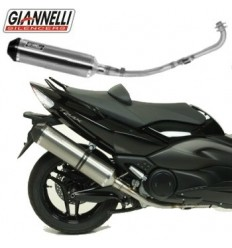 Marmitta Giannelli Full System Titanium Carby Yamaha T-Max 500 08-11