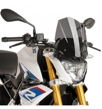 Cupolino Puig Naked fume scuro per BMW G310 R dal 2016