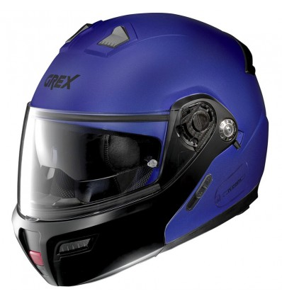 Casco Grex G9.1 Evolve apribile Couplé blu opaco e nero