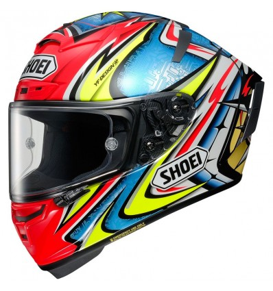 Casco integrale Shoei X-Spirit 3 grafica Daijiro TC-3 multicolore