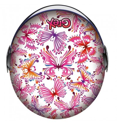 Casco da bambino Grex G1.1 Artwork grafica Butterfly